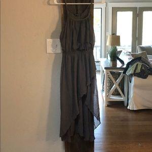A high low dress.